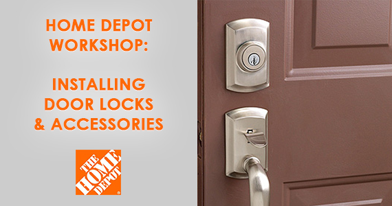 Home Depot Workshop: March 9th
